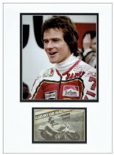 Barry Sheene Autograph Display